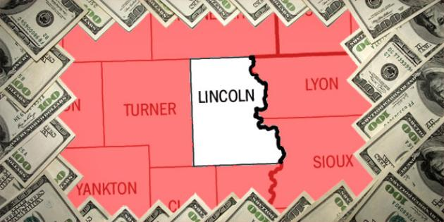 Most property tax paid in South Dakota: Lincoln County
