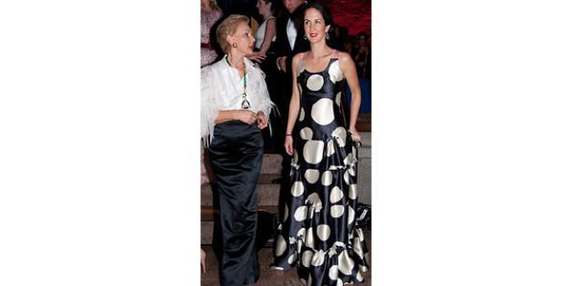 Carolina Herrera and Patricia Lansing