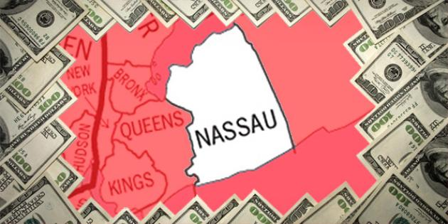 Most property tax paid in New York: Nassau County