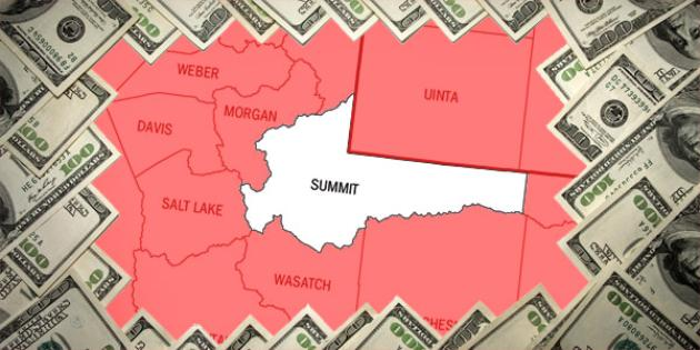 Most property tax paid in Utah: Summit County
