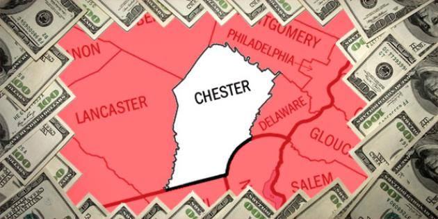 Most property tax paid in Pennsylvania: Chester County