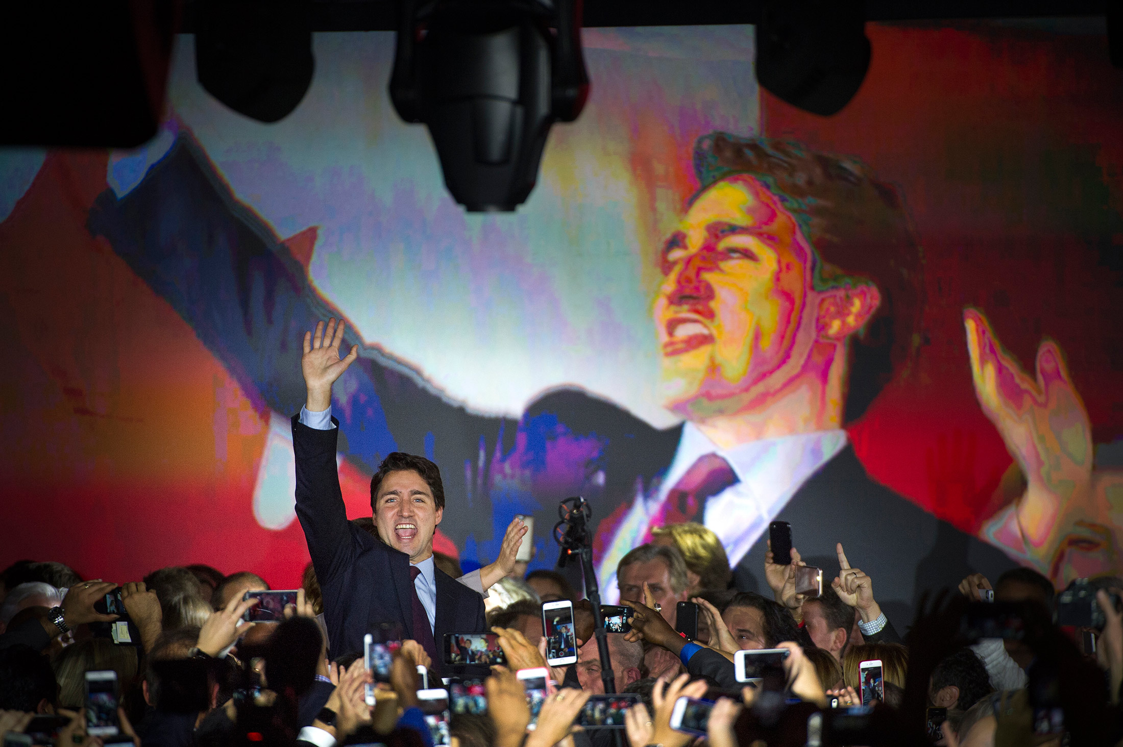 Who made the greatest impact on Canadian society in 2008?