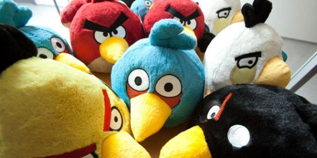 No. 19 Hot Holiday Import: Angry Birds merchandise