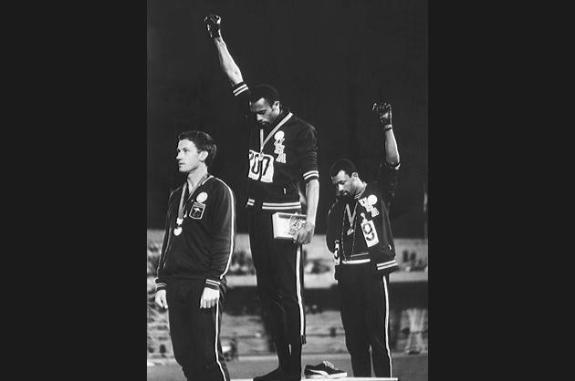 Black Power Salute at the Olympic Games