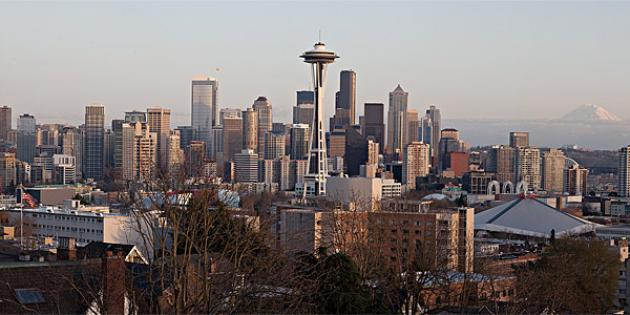 No. 8 City for Tech Jobs: Seattle