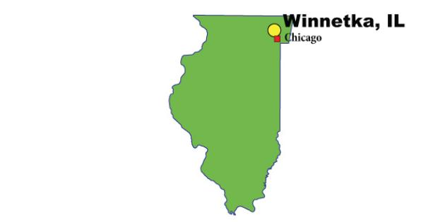 Most Expensive Suburb in Illinois: Winnetka