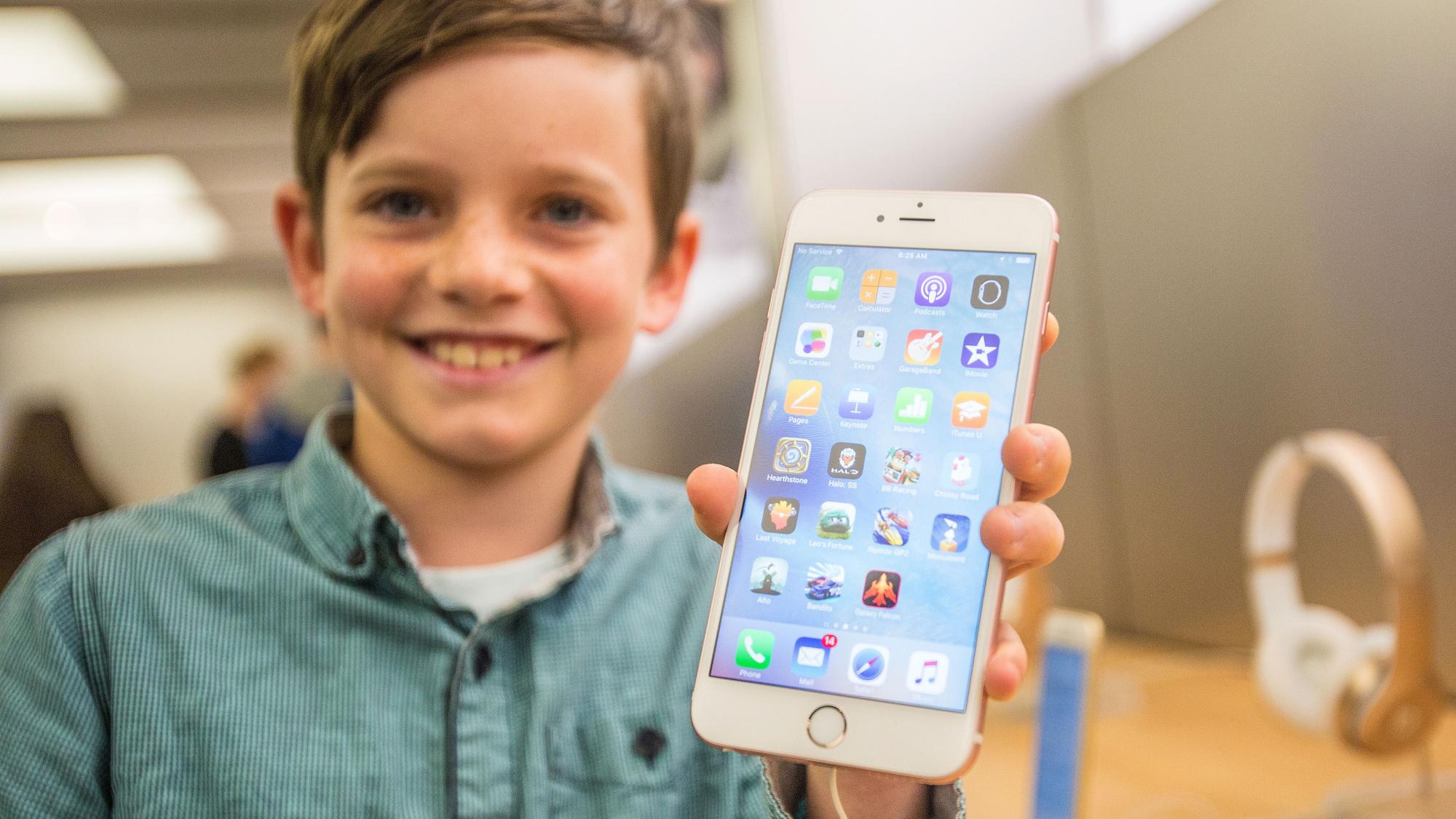 Какие будут дети по фото родителей на айфон