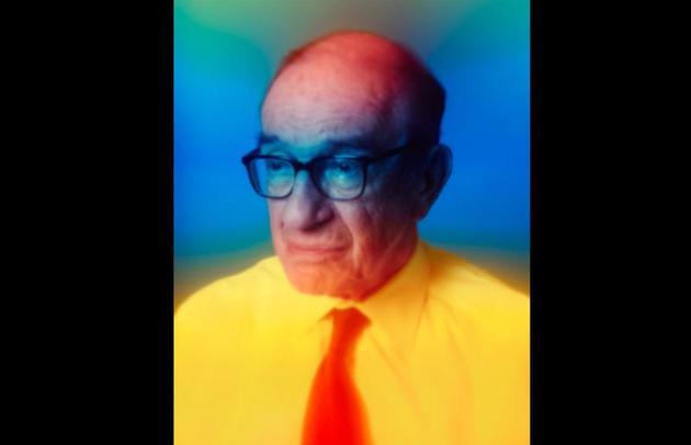 Alan Greenspan, by Maciek Jasik
