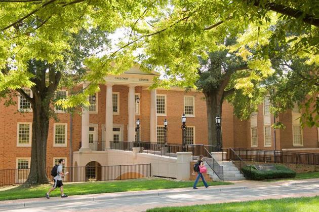 45. Wake Forest University