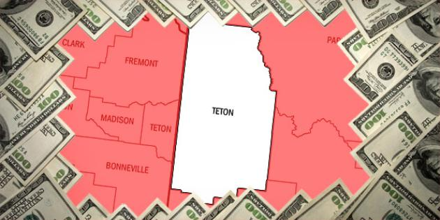 Most property tax paid in Wyoming: Teton County