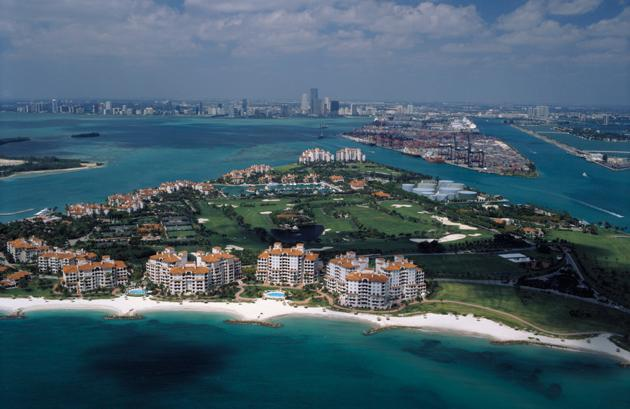 No. 15 Most Expensive Small Town: Fisher Island, Fla.