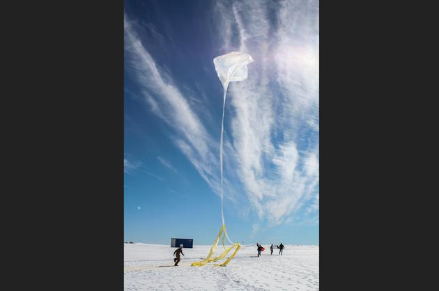 Balloons Launched to Study Space Weather