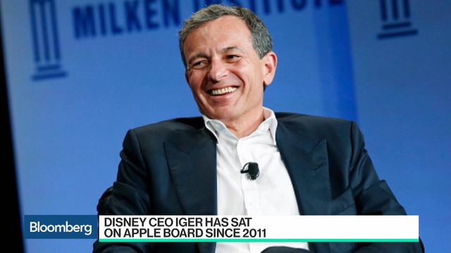 Disney CEO Bob Iger may have to resign his board seat at Apple, as both companies become competitors in the streaming space