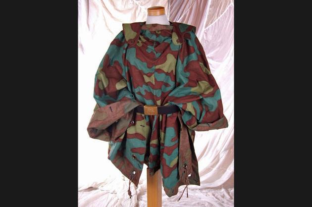 Italian camouflage cloth