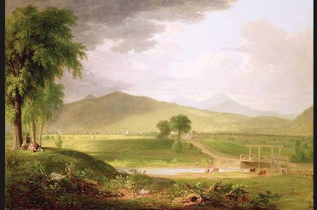 View of Rutland, Vermont