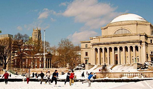 No. 14: Columbia University