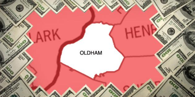 Most property tax paid in Kentucky: Oldham County