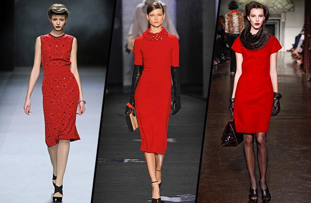 For the Weekend - The Red Dress