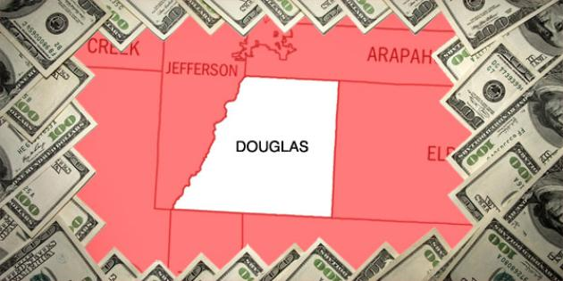 Most property tax paid in Colorado: Douglas County