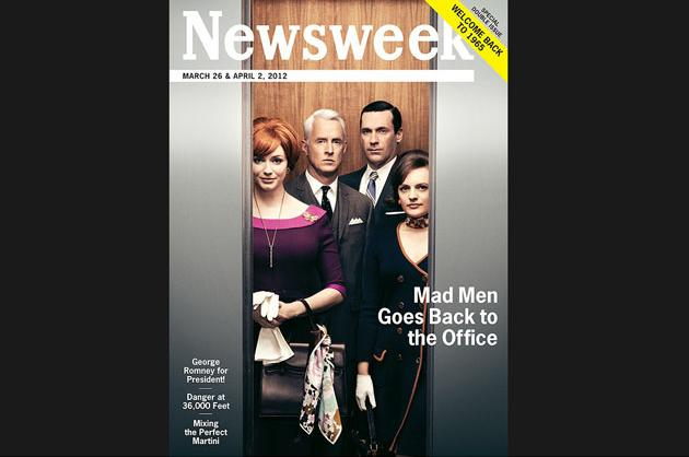 'Mad Men'-Themed 'Newsweek'