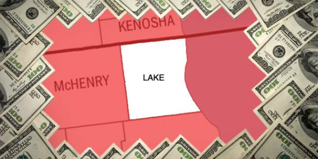 Most property tax paid in Illinois: Lake County