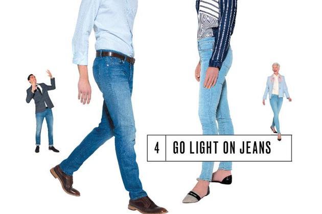 Go Light on Jeans
