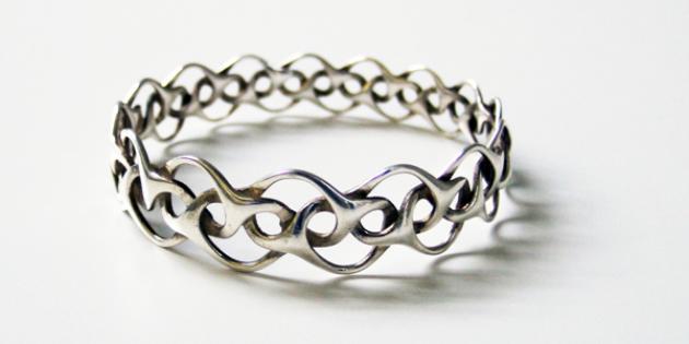 Jewelry: Shapeways Silver Ring