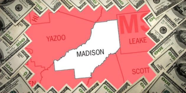 Most property tax paid in Mississippi: Madison County