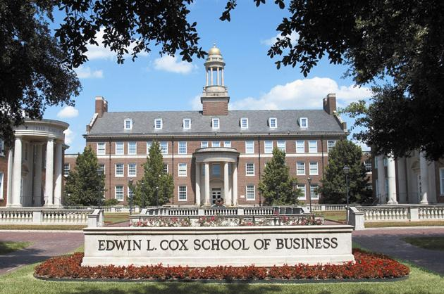 3. Southern Methodist University (Cox)