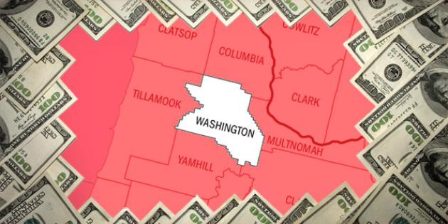Most property tax paid in Oregon: Washington County