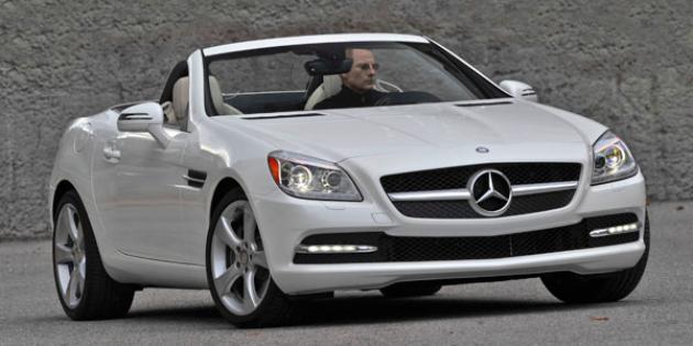 2012 Mercedes SLK350 convertible