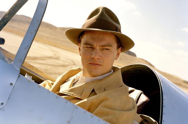 Howard Hughes-Leonardo DiCaprio
