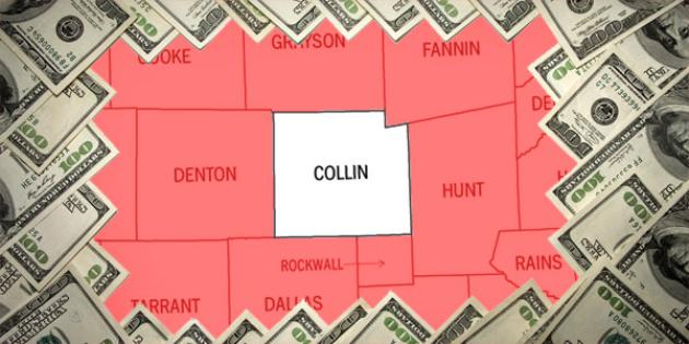 Most property tax paid in Texas: Collin County