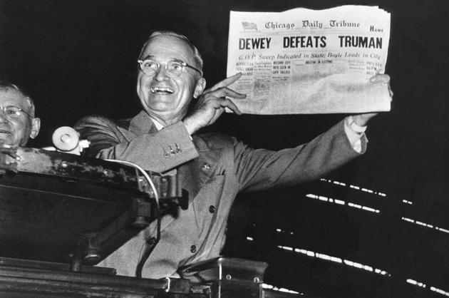 'Dewey Defeats Truman'