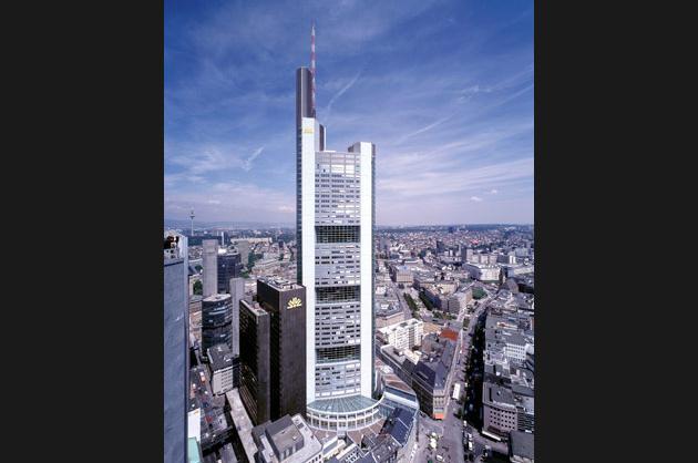 Commerzbank Headquarters, Frankfurt, 1997