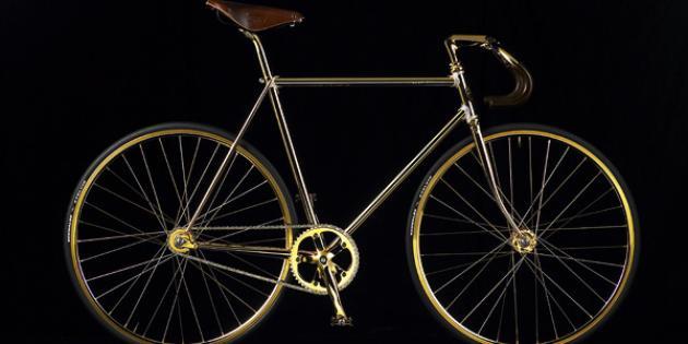 Aurumania Gold Bike Crystal Edition