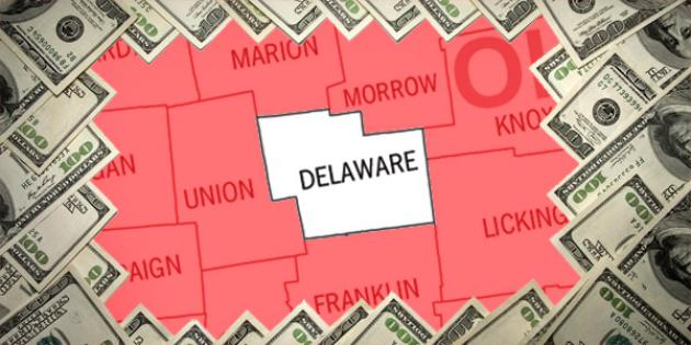 Most property tax paid in Ohio: Delaware County