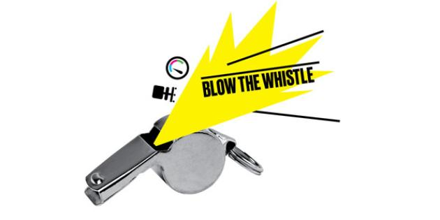 How To Blow the Whistle