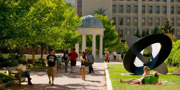 No. 4 George Washington University
