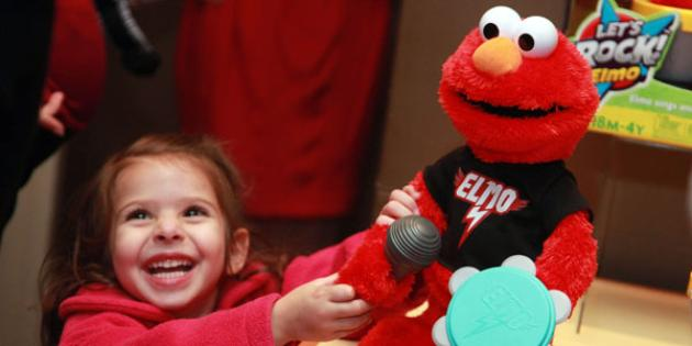 No. 15 Hot holiday import:  Elmo merchandise