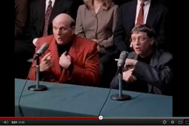 Bill Gates and Steve Ballmer Dance to 'A Night at the Roxbury'