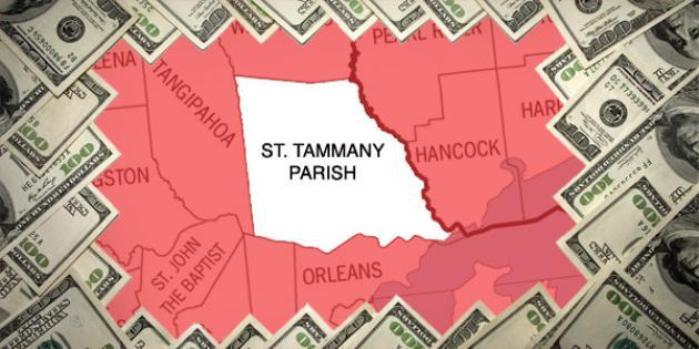 Most property tax paid in Louisiana: St. Tammany Parish