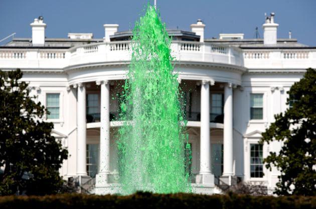 White House Fountain