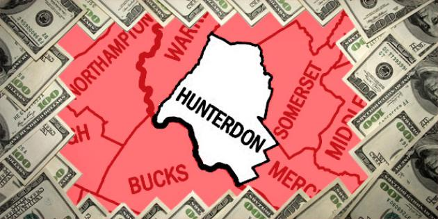 Most property tax paid in New Jersey: Hunterdon County