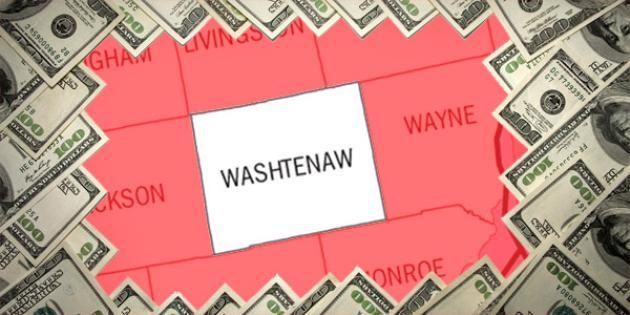 Most property tax paid in Michigan: Washtenaw County