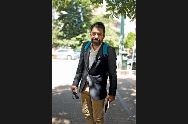 Nikos Antoniadis, 50, lawyer