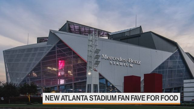 Atlanta Falcons Broke the Rules of Stadium Food and It Paid Off | Bloomberg