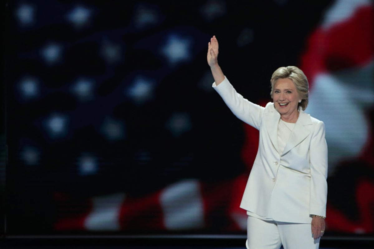 Hillary takes N-route to downsize Trump
