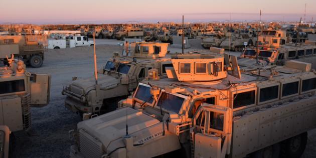 Mine Resistant Vehicles