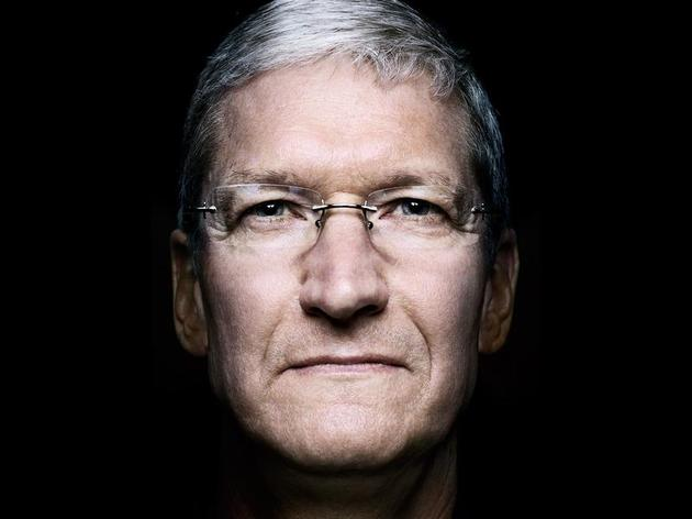 Apple CEO Tim Cook, by Platon